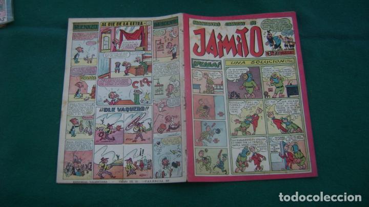 JAIMITO VALENCIANA ORIGINAL 107 CJ 10 (Tebeos y Comics - Valenciana - Jaimito)
