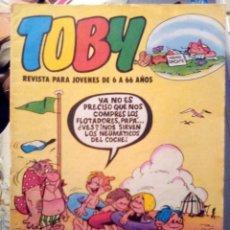 Tebeos: TOBY-PARA JÓVENES DE 6 A 66 AÑOS- Nº 19 -AMBRÓS-SERGIO TOPPI-BERMEJO-1984-BUENO-DIFÍCIL-LEA-3153. Lote 195124780