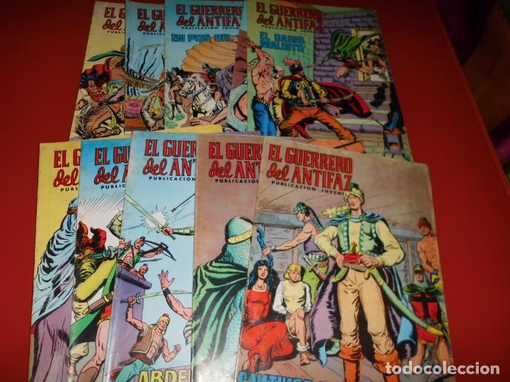 EL GUERRERO DEL ANTIFAZ - LOTE Nº 121 AL 200 - EDITORA VALENCIANA (Tebeos y Comics - Valenciana - Guerrero del Antifaz)