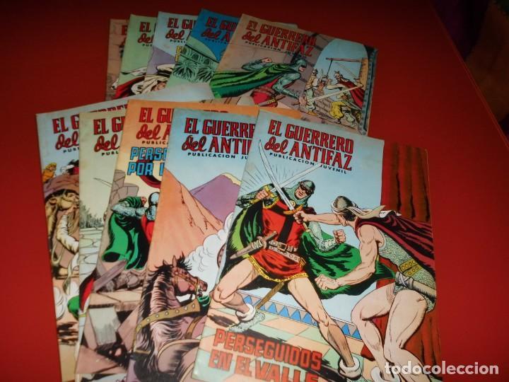 Tebeos: El guerrero del antifaz - lote nº 121 al 200 - editora valenciana - Foto 5 - 195125610