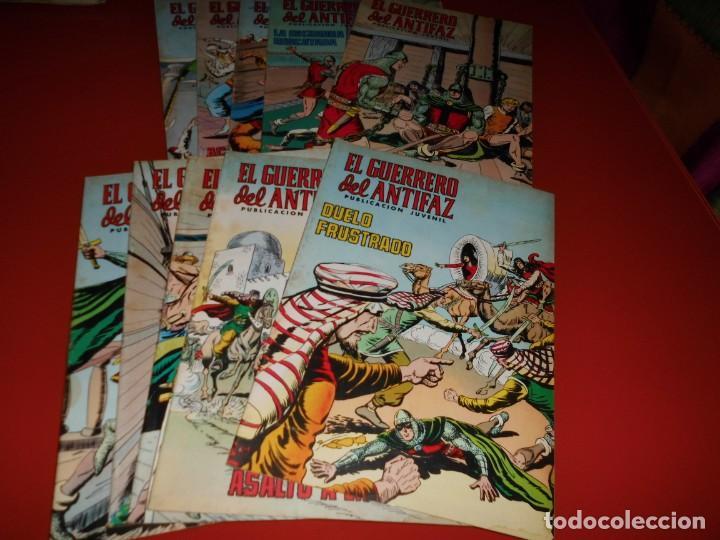 Tebeos: El guerrero del antifaz - lote nº 121 al 200 - editora valenciana - Foto 7 - 195125610