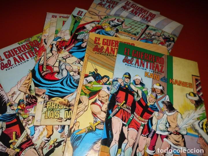 Tebeos: El guerrero del antifaz - lote nº 121 al 200 - editora valenciana - Foto 13 - 195125610