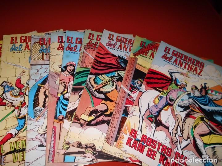 Tebeos: El guerrero del antifaz - lote nº 121 al 200 - editora valenciana - Foto 15 - 195125610