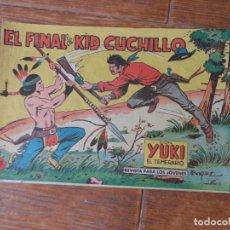 Tebeos: YUKI EL TEMERARIO Nº 62 EDITORIAL VALENCIANA ORIGINAL. Lote 195127577