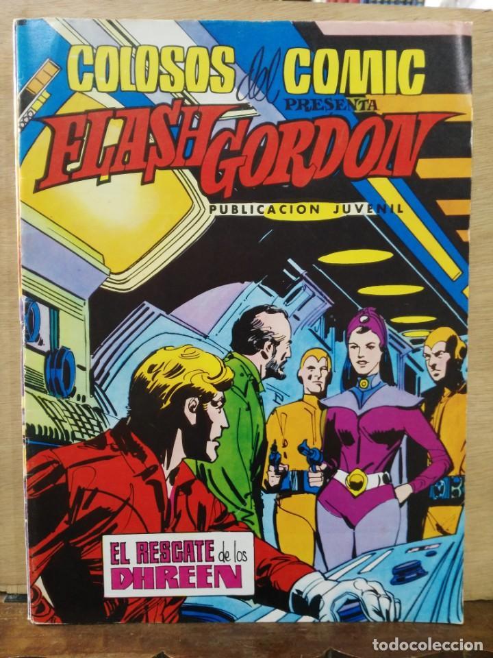 FLASH GORDON - Nº 35, EL RESCATE DE LOS DHREEN - ED. VALENCIANA (Tebeos y Comics - Valenciana - Colosos del Comic)
