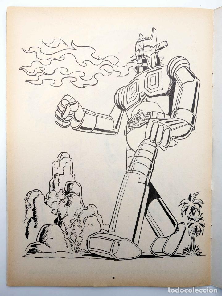 Tebeos: COLOREA A MAZINGER Z, EL ROBOT DE LAS ESTRELLAS 1 2 3 4. COMPLETA (J. Sanchís) Ediprint, 1978. OFRT - Foto 4 - 195216085