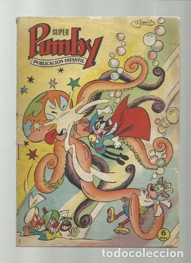 SUPER PUMBY 4, 1964, VALENCIANA, SEÑALES DE USO (Tebeos y Comics - Valenciana - Pumby)