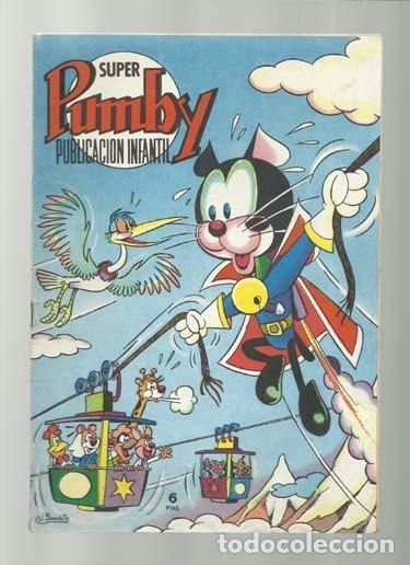 SUPER PUMBY 53, 1968, VALENCIANA, BUEN ESTADO (Tebeos y Comics - Valenciana - Pumby)