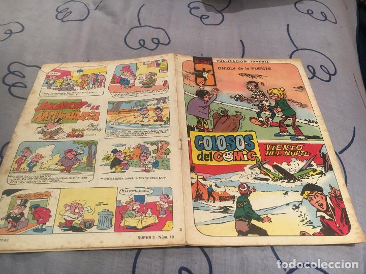 COLOSOS DEL CÓMIC SUPER 3 Nº 10 AMBRÓS / CHIQUI DE LA FUENTE (Tebeos y Comics - Valenciana - Colosos del Comic)