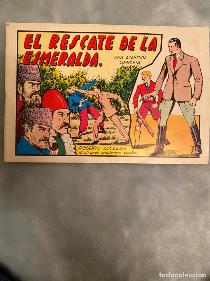 EL RESCATE DE LA ESMERALDA ROBERTO ALCAZAR (Tebeos y Comics - Valenciana - Roberto Alcázar y Pedrín)
