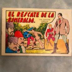 Tebeos: EL RESCATE DE LA ESMERALDA ROBERTO ALCAZAR. Lote 195271265