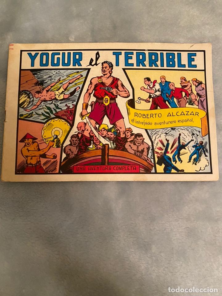 YOGUR EL TERRIBLE ROBERTO ALCAZAR (Tebeos y Comics - Valenciana - Roberto Alcázar y Pedrín)
