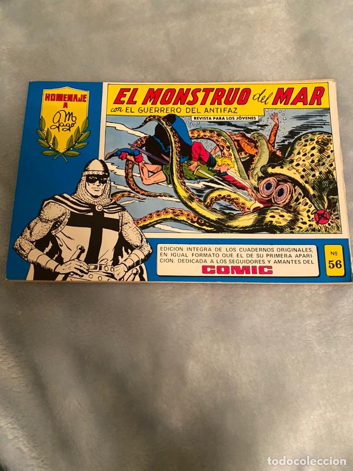 EL MONSTRUO DEL MAR EL GUERRERO DEL ANTIFAZ NÚMERO 56 (Tebeos y Comics - Valenciana - Guerrero del Antifaz)