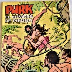 Tebeos: PURK EL HOMBRE DE PIEDRA Nº 62 - EL SALVAMENTO DE LILA - SELECCIÓN AVENTURA EDIVAL - TAPA BLANDA. Lote 195279195