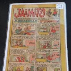 Tebeos: VALENCIANA JAIMITO NUMERO 676 NORMAL ESTADO. Lote 195311785