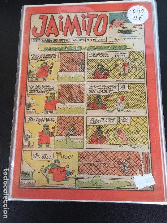 VALENCIANA JAIMITO NUMERO 640 NORMAL ESTADO (Tebeos y Comics - Valenciana - Jaimito)