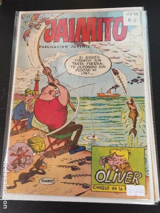 VALENCIANA JAIMITO NUMERO 1648 NORMAL ESTADO (Tebeos y Comics - Valenciana - Jaimito)