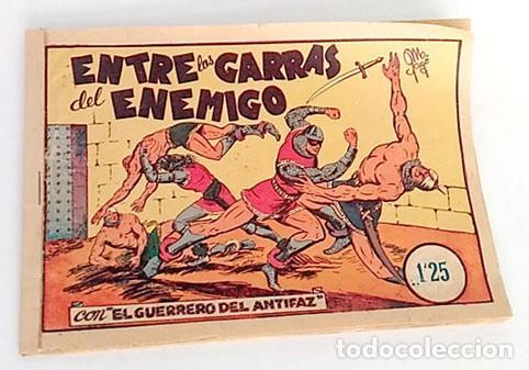 ORIGINAL GUERRERO DEL ANTIFAZ Nº 11 (Tebeos y Comics - Valenciana - Guerrero del Antifaz)