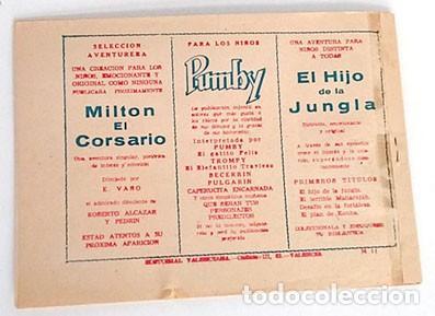 Tebeos: ORIGINAL GUERRERO DEL ANTIFAZ Nº 11 - Foto 2 - 195323921