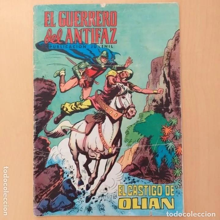 EL GUERRERO DEL ANTIFAZ - EL CASTIGO DE OLIAN. VALENCIANA. NUM 71 (Tebeos y Comics - Valenciana - Guerrero del Antifaz)