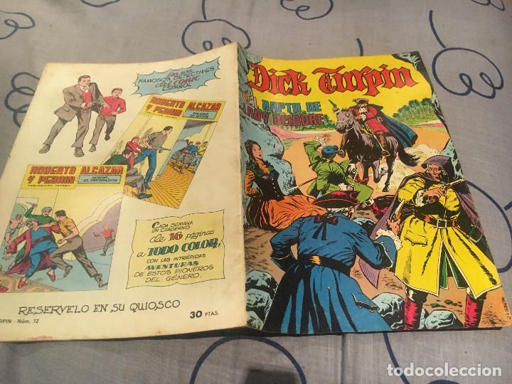 DICK TURPIN. Nº12. EL RAPTO DE LADY DEIRDRE . EDITORIAL VALENCIANA 1979 (Tebeos y Comics - Valenciana - Otros)