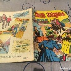 Tebeos: DICK TURPIN. Nº12. EL RAPTO DE LADY DEIRDRE . EDITORIAL VALENCIANA 1979. Lote 195368430
