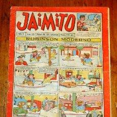 Tebeos: JAIMITO. AÑO X ; Nº 316. - [1955]. Lote 195382662