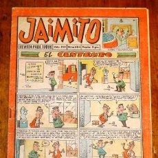 Tebeos: JAIMITO : REVISTA PARA TODOS. AÑO XVI ; Nº 604 ; 6-V-1961. Lote 195382708