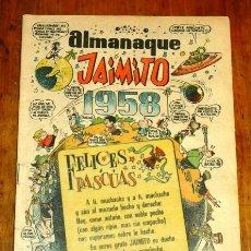 Tebeos: JAIMITO : REVISTA PARA TODOS. ALMANAQUE 1958. Lote 195383087