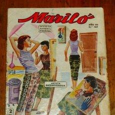 Tebeos: MARILÓ : REVISTA JUVENIL FEMENINA. AÑO VII ; Nº 147. Lote 195383723