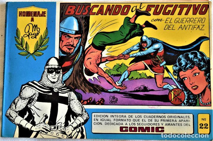 Tebeos: EL GUERRERO DEL ANTIFAZ Nº 20 Y 22 - AÑO 1981 - EDITORIAL VALENCIANA - TAPA BLANDA - Foto 3 - 195386290