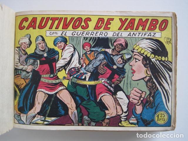 Tebeos: GUERRERO DEL ANTIFAZ. CUADERNOS 251-300, 1,25 PTAS. EDITORIAL VALENCIANA. VER FOTOGRAFÍAS. - Foto 8 - 195417083