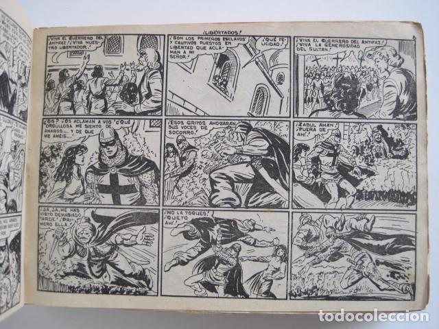 Tebeos: GUERRERO DEL ANTIFAZ. CUADERNOS 251-300, 1,25 PTAS. EDITORIAL VALENCIANA. VER FOTOGRAFÍAS. - Foto 11 - 195417083