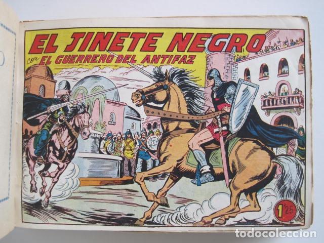 Tebeos: GUERRERO DEL ANTIFAZ. CUADERNOS 251-300, 1,25 PTAS. EDITORIAL VALENCIANA. VER FOTOGRAFÍAS. - Foto 12 - 195417083