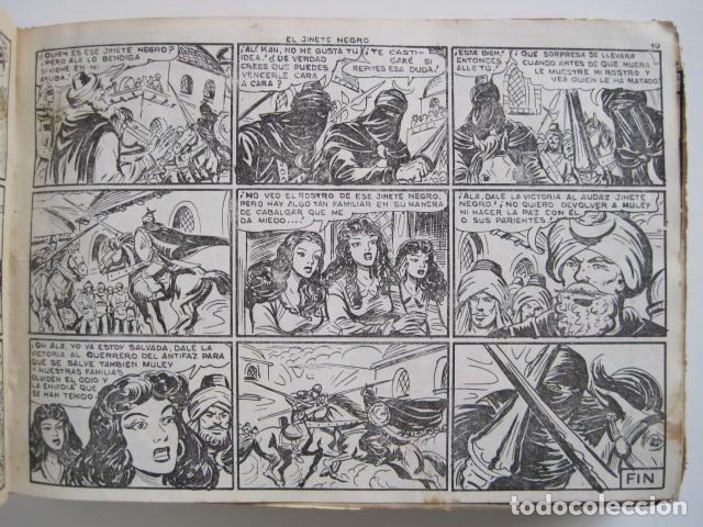 Tebeos: GUERRERO DEL ANTIFAZ. CUADERNOS 251-300, 1,25 PTAS. EDITORIAL VALENCIANA. VER FOTOGRAFÍAS. - Foto 13 - 195417083