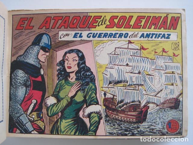 Tebeos: GUERRERO DEL ANTIFAZ. CUADERNOS 251-300, 1,25 PTAS. EDITORIAL VALENCIANA. VER FOTOGRAFÍAS. - Foto 14 - 195417083