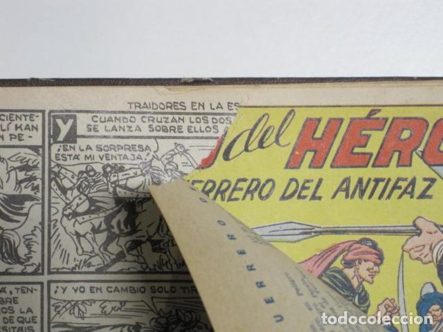 Tebeos: GUERRERO DEL ANTIFAZ. CUADERNOS 251-300, 1,25 PTAS. EDITORIAL VALENCIANA. VER FOTOGRAFÍAS. - Foto 17 - 195417083
