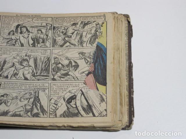 Tebeos: GUERRERO DEL ANTIFAZ. CUADERNOS 251-300, 1,25 PTAS. EDITORIAL VALENCIANA. VER FOTOGRAFÍAS. - Foto 21 - 195417083