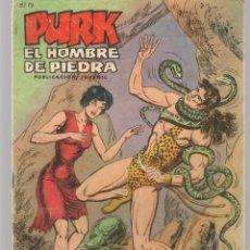 Tebeos: PURK, EL HOMBRE DE PIEDRA. Nº 52. SELECCIÓN AVENTURERA. EDIVAL, 1974. (ST/MG/B4). Lote 206437005