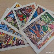 Tebeos: LOTE DE 6 EJEMPLARES EL ESPADACHÍN ENMASCARADO. EDITA VALENCIANA 1981. Lote 195422637