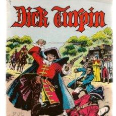Tebeos: DICK TURPIN. 12 NROS. ¡¡COLECCIÓN COMPLETA!!. A COLOR. EDIVAL, 1979(ST/MG/B4). Lote 195479462