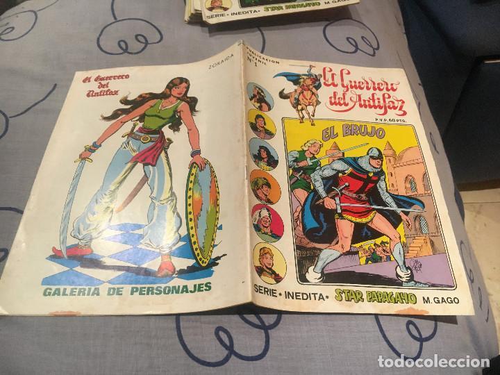 EL GUERRERO DEL ANTIFAZ, SERIE INÉDITA - Nº 1 EL BRUJO - EDITORIAL VALENCIANA (Tebeos y Comics - Valenciana - Guerrero del Antifaz)