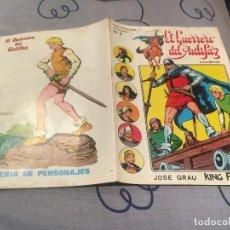 Tebeos: EL GUERRERO DEL ANTIFAZ, SERIE INÉDITA - Nº4 LA VIEJA ESPADA - EDITORIAL VALENCIANA. Lote 195498610