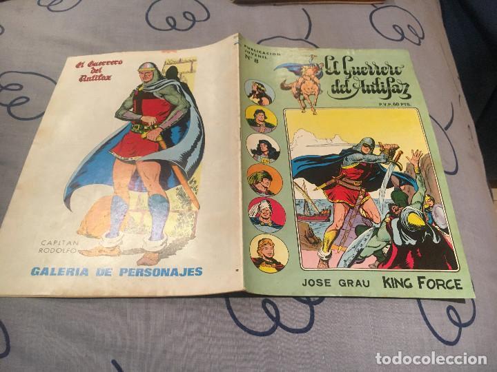 EL GUERRERO DEL ANTIFAZ, SERIE INÉDITA - Nº 8 LA SENDA DEL BIEN - EDITORIAL VALENCIANA (Tebeos y Comics - Valenciana - Guerrero del Antifaz)