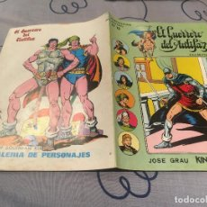 Tebeos: EL GUERRERO DEL ANTIFAZ, SERIE INÉDITA - Nº12 LA TIRANA DE MADUK - EDITORIAL VALENCIANA . Lote 195501495