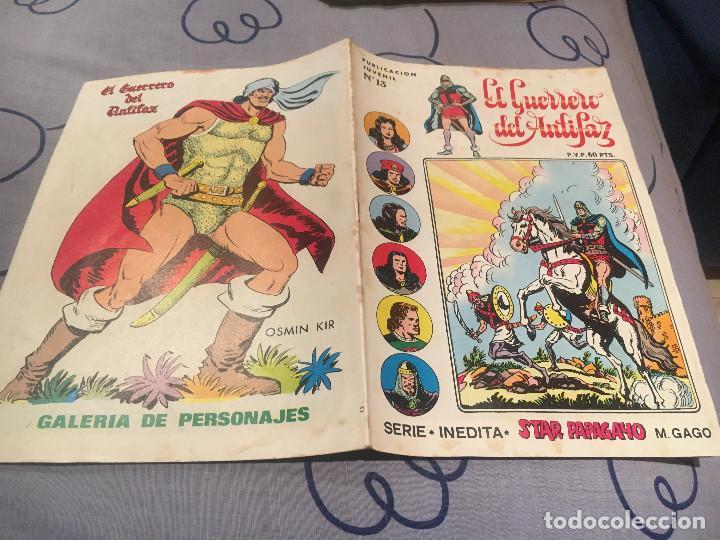 EL GUERRERO DEL ANTIFAZ, SERIE INÉDITA - Nº13 EL ENANO ERMITAÑO - EDITORIAL VALENCIANA (Tebeos y Comics - Valenciana - Guerrero del Antifaz)
