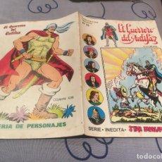 Tebeos: EL GUERRERO DEL ANTIFAZ, SERIE INÉDITA - Nº13 EL ENANO ERMITAÑO - EDITORIAL VALENCIANA . Lote 195501845