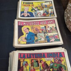 Tebeos: LOTAZO D 140 NÚMEROS DE ROBERTO ALCÁZAR Y PEDRÍN ORIGINALES. Lote 195502865