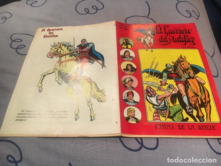 EL GUERRERO DEL ANTIFAZ, SERIE INÉDITA-Nº30 ULTIMO NUMERO-DIEGO EL VILLANO- EDITORIAL VALENCIANA (Tebeos y Comics - Valenciana - Guerrero del Antifaz)