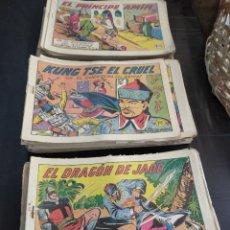 Tebeos: LOTAZO DE 120 NÚMEROS DEL GUERRERO DEL ANTIFAZ ORIGINALES. Lote 195530116